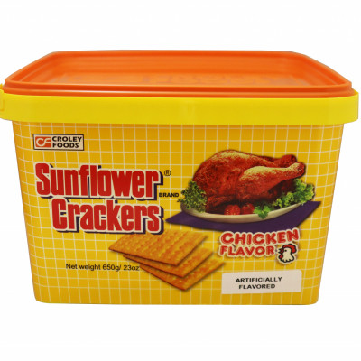 Sunflower Crackers Chicken Flavor