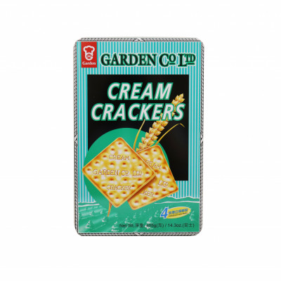 1303)cream Cracker Tin