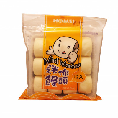 Mini Mantou (12pcs)