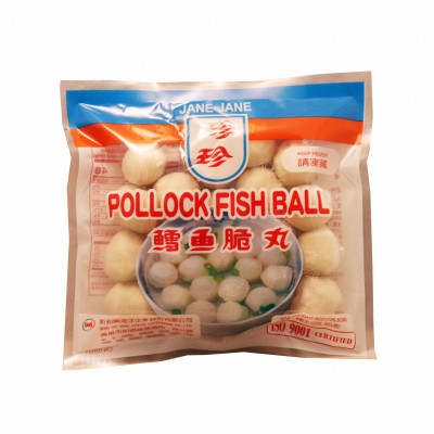 Frozen Pollock Fish Ball