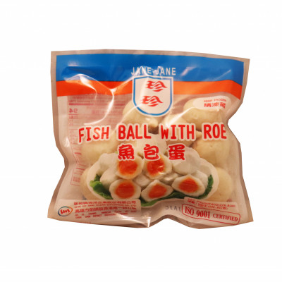 Frozen Fish Ball With Roe