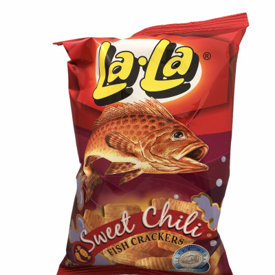 Lala Fish Crackers - Sweet Chili