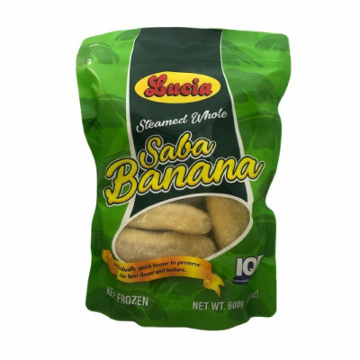 LUCIA IQF STEAMED WHOLE SABA BANANA
