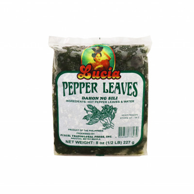 Pepper Leaves (sili)