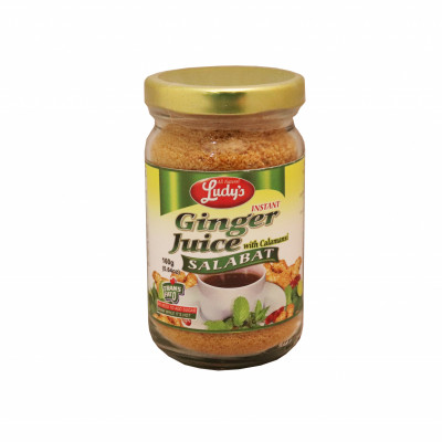 Instant Ginger Juice With Calamansi