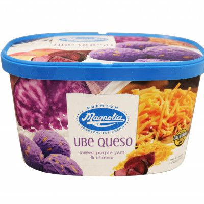 Ube Queso Ice Cream