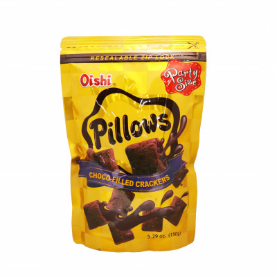 Pillows Chocolate Filled Crackers