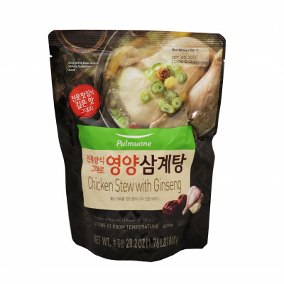 Chicken Stew Ginseng