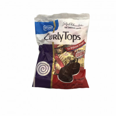 Curly Tops Milk Chocolate (bag)