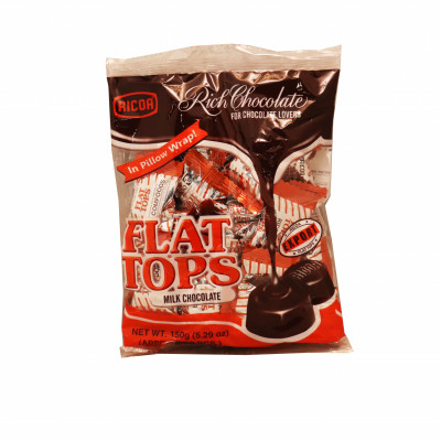 Flat Tops Chocolate Candy
