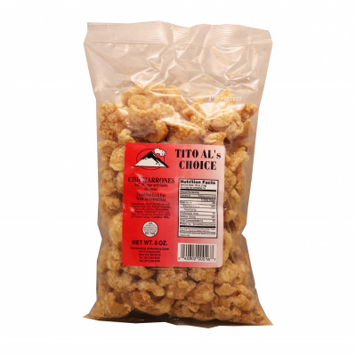 Pork Crackling Salt Vinegar & Garlic (large)